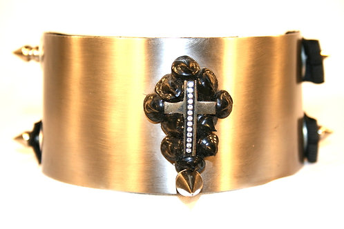 "Halsband ""Cross my Heart"""