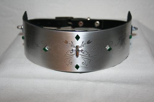 "Halsband ""Green Diamont"""