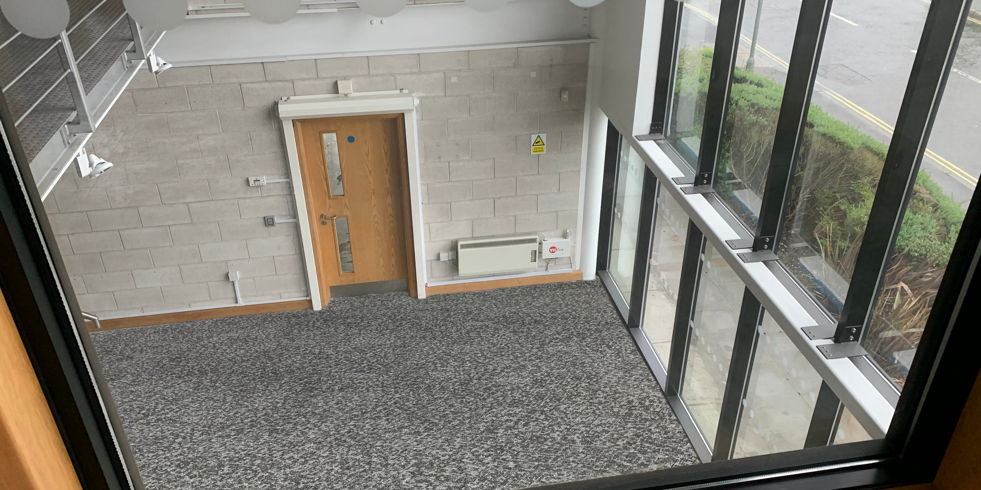 5 Penner Road, Reception Atrium from Executive Office 2