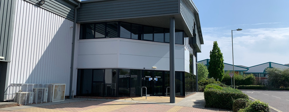 5 Penner Road, Reception Entrance & Visitors Parking