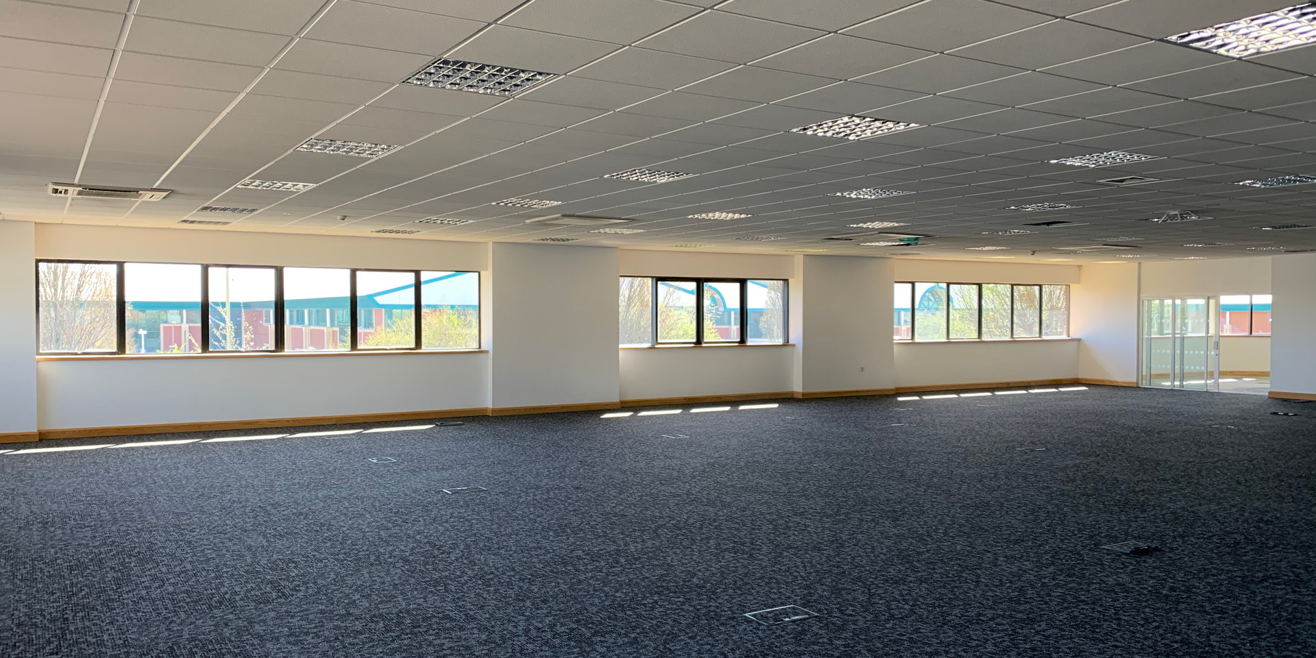 5 Penner Road, Open Plan Office  Leading to  S/SW facing Executive Office