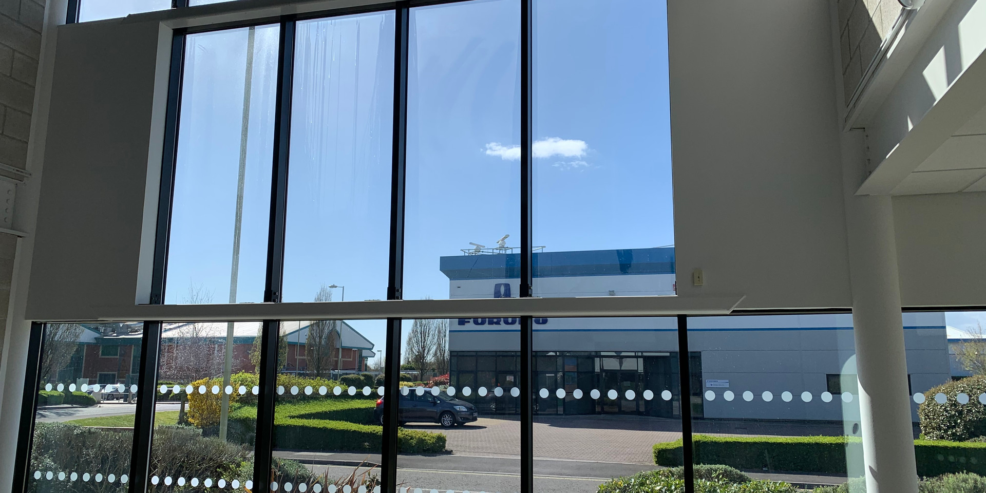 5 Penner Road, Reception Atrium