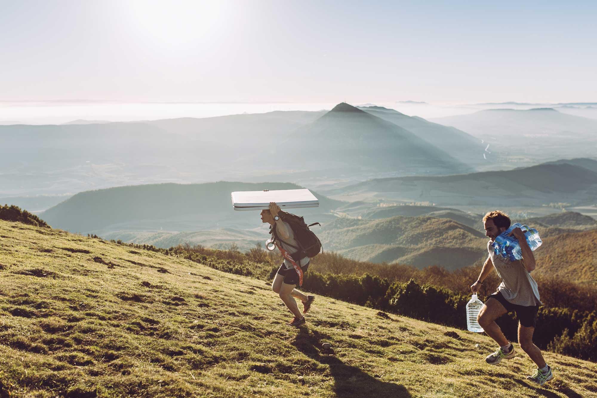 Voluntarios Izaga Trail