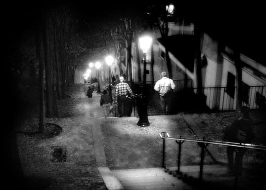 Escalier à Montmartre