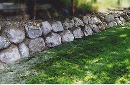 Landscape Construction Rock Wall New Law