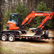 Kubota Excavator Equipment Trailer
