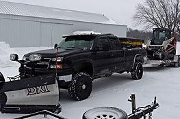Snow Plow Truck Sander Skidsteer