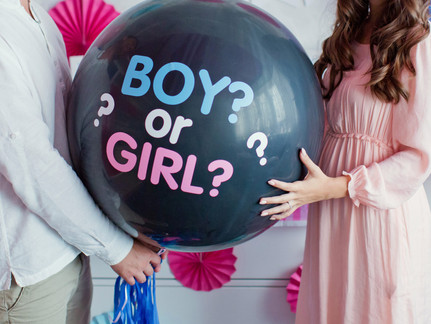 Oh Baby, Baby! What's the Deal with Gender Reveal Parties?