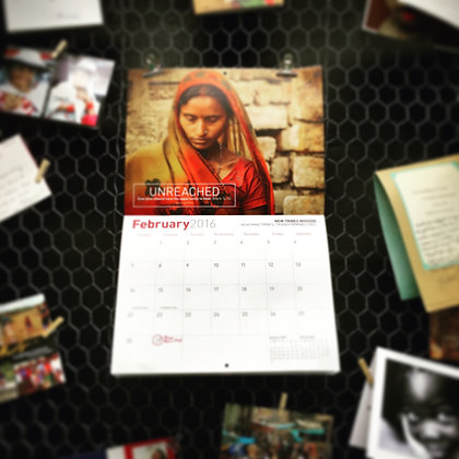 2017 New Tribe Missions Calendar