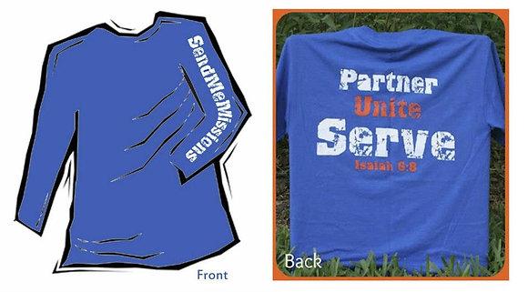 SMM Blue Shirt - Long Sleeve
