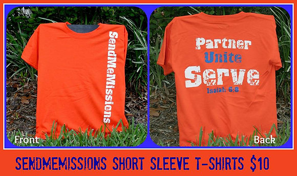 SMM Orange Shirt - Short Sleeve