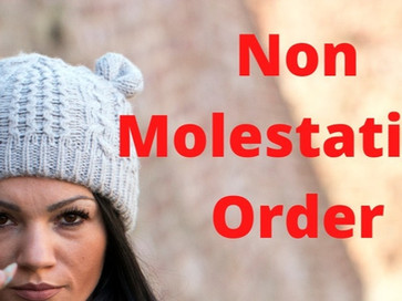 Impact of Non-Molestation Order on a Father