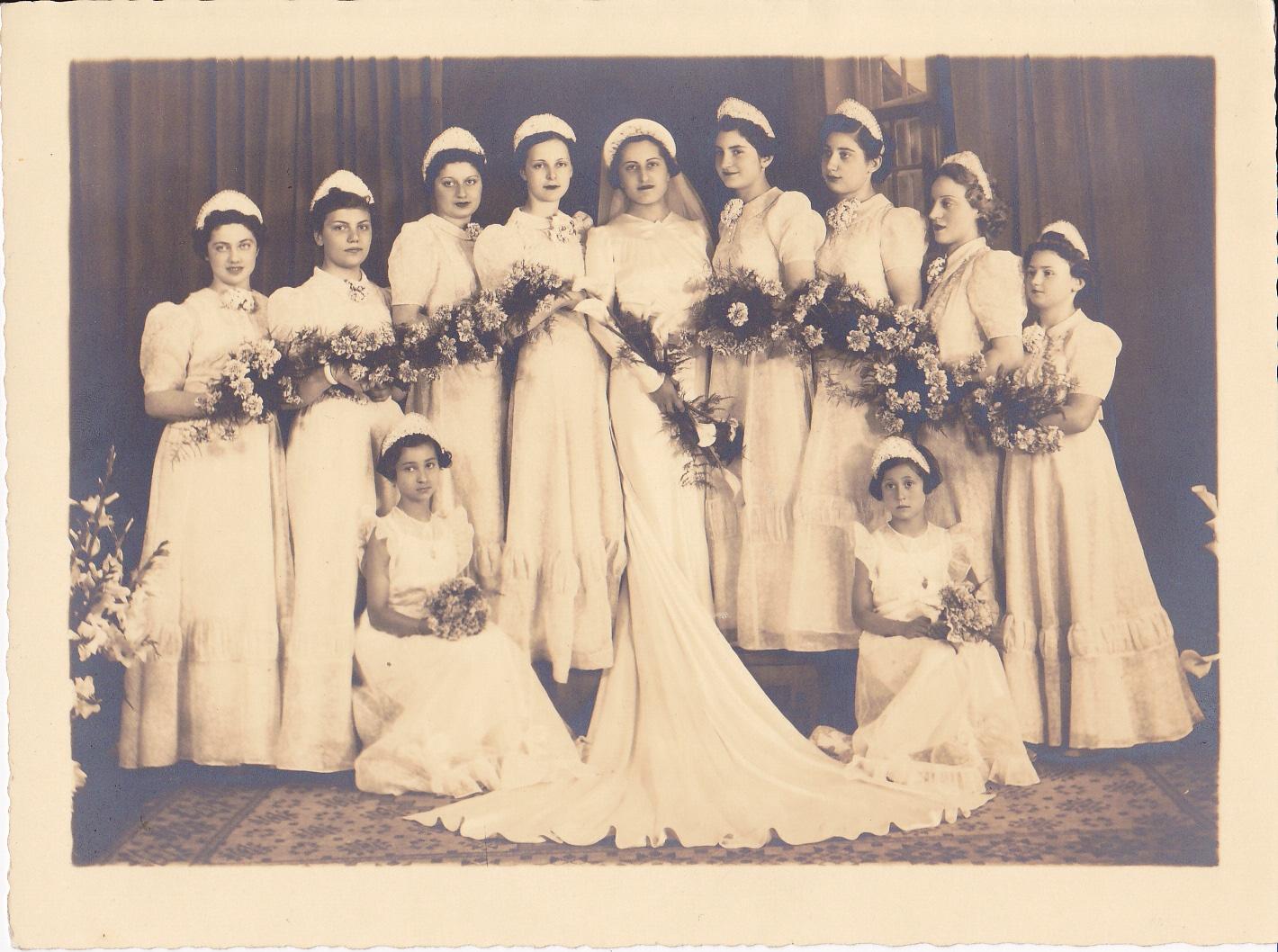 ליליאן הילדה בחתונת קרובת משפחה