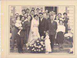 ליליאן כהן ביום נישואיה