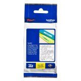 """Brother TZe135 12mm (0.47"""") White on Clear tape for P-Touch 8m (26.2 ft)"""