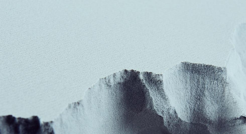 Loser Sand beim 3D-Sanddruckverfahren