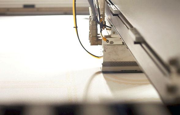 Druckkopf eines Binder-Jetting Druckers