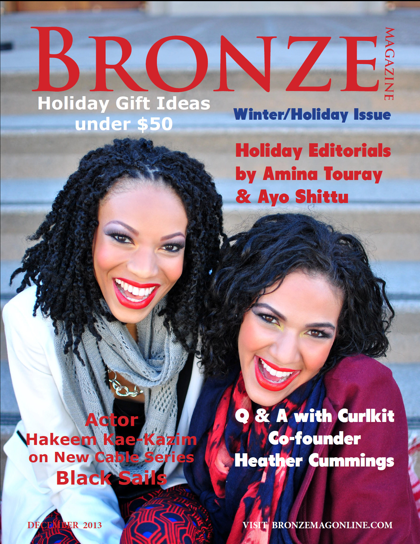 Bronze Magazine Cover