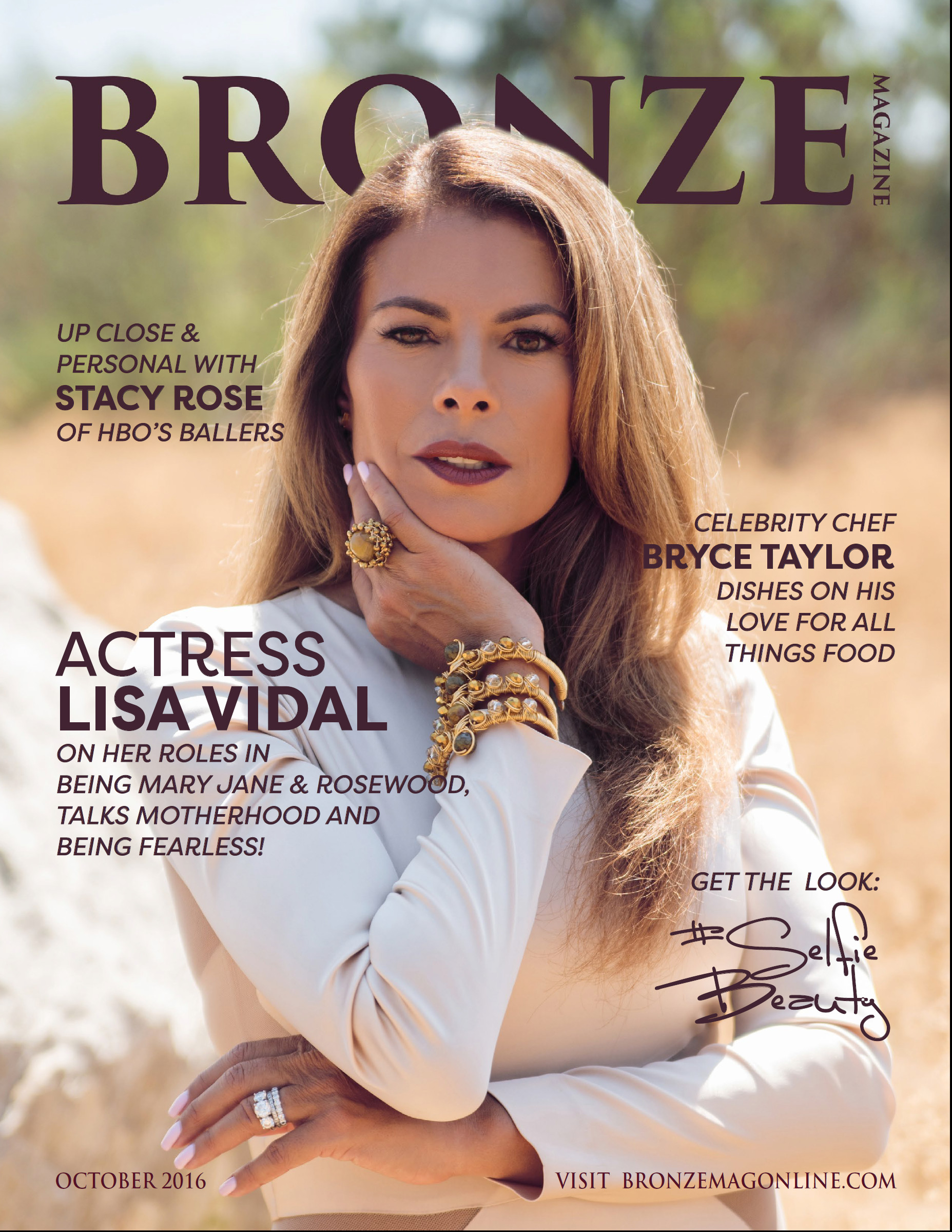 October 2016 Cover - Lisa Vidal