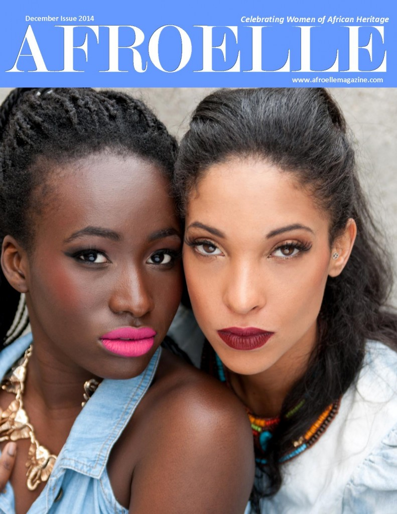 Afroelle Magazine Cover