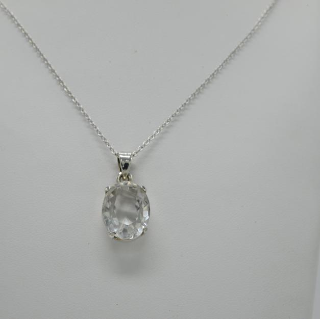 Collier Cristal de Quartz