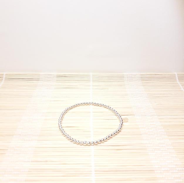 Bracelet Elastique Argent