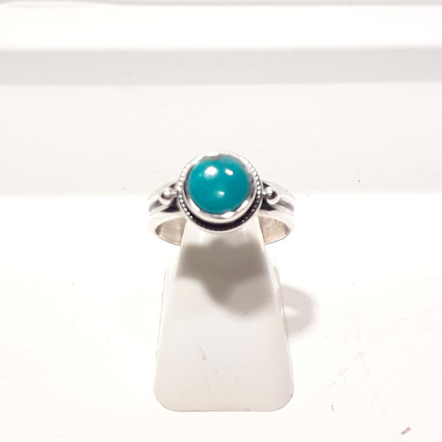 Bague Turquoise Ronde