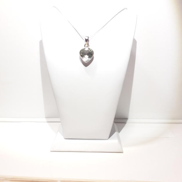 Collier Prasiolite