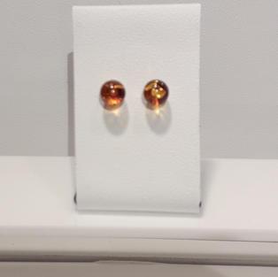 Boucles Perles d'Ambre
