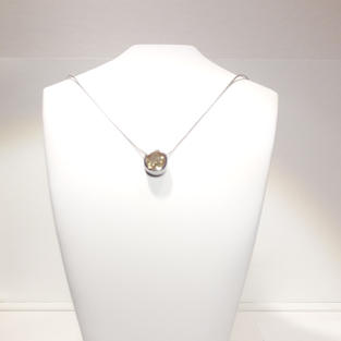 Collier Rond Citrine