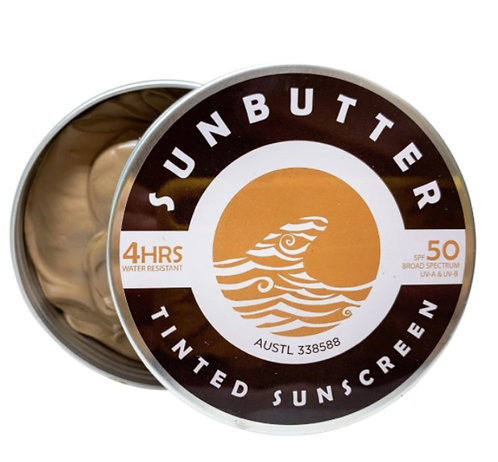 Tinted Sun Butter Sunscreen SPF 50+ 4hr Water Resistant