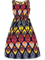 Sunkissed Batik Dress