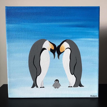 Penguin Family, Greeting card_1