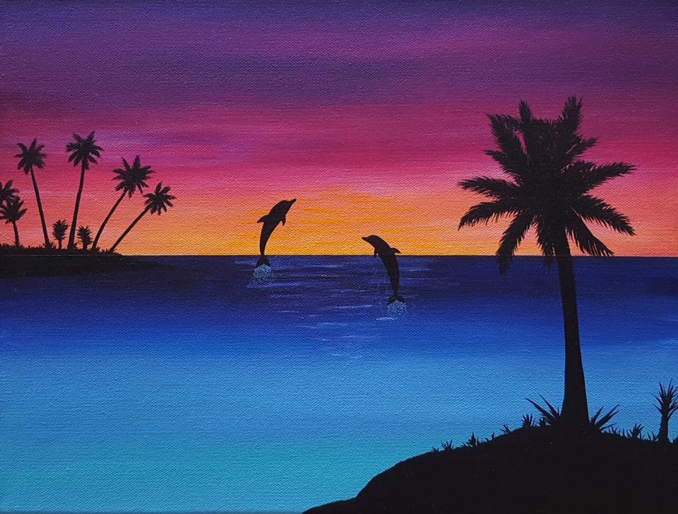 Dolphin Silhouette, Print_1
