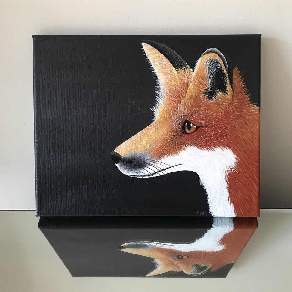 Red Fox, Greeting card_1