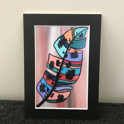 African Feather, Print_1