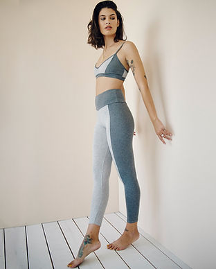 groceries apparel recycled ethical fair trade sustainable yoga leggings activewear