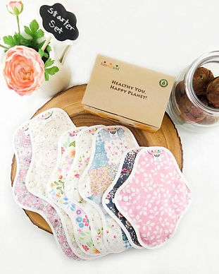 hannah pad menstrual eco sustainable swaps