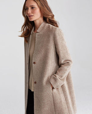 eileen fisher ethical and sustainable outerwear jackets coats and winterwear