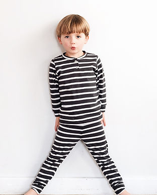noctu fair trade organic sustainable childrens kids pajamas
