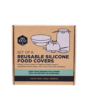 ever eco silicone food covers eco sustainable swaps