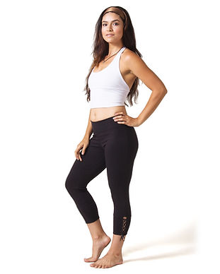beckons yoga recycled ethical fair trade sustainable yoga leggings activewear