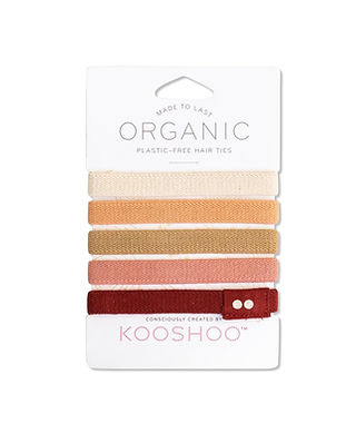 kooshoo organic hair tie eco sustainable alternatives