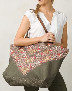 prana sustainable fair trade bags