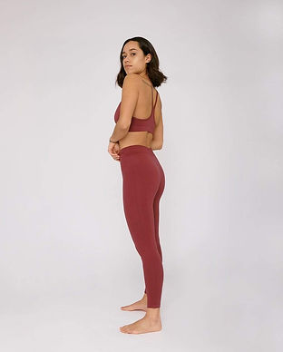 organic basics recycled ethical fair trade sustainable yoga leggings activewear