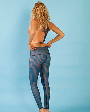 teeki recycled ethical fair trade sustainable yoga leggings activewear