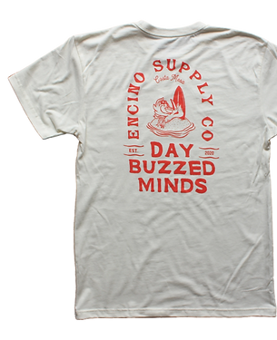 DAY BUZZED MINDS TEE _ NATURAL – Encino Supply Co_.png