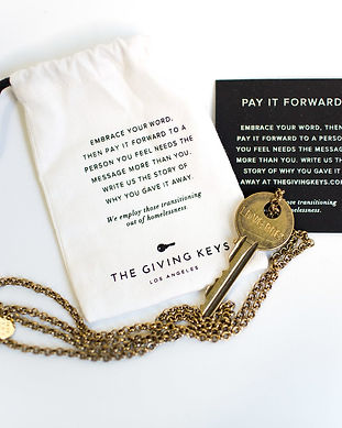 giving keys sustainable and ethical jewelry