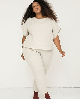 elizabeth suzann plus size inclusive sustainable fair trade ethical sohpisticated casualwear business clothing