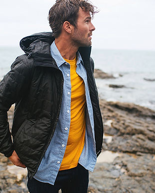 finisterre ethical and sustainable outerwear jackets coats and winterwear